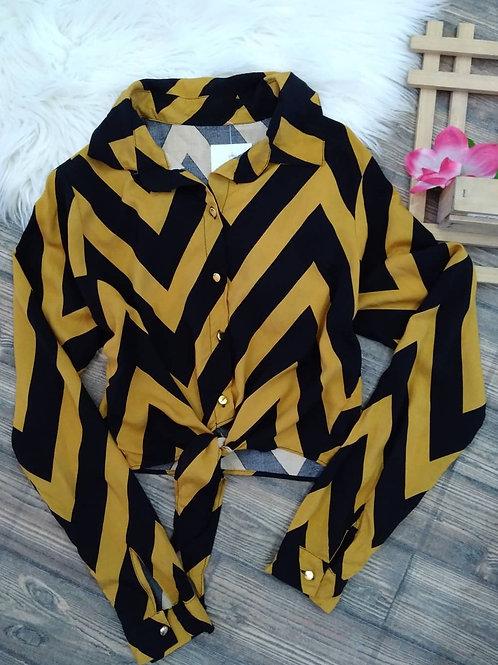 Camisa Cropped M