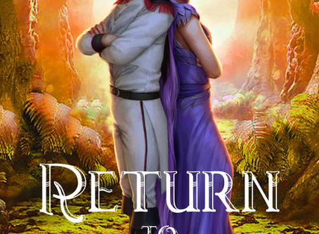 It's time!!!! The cover for Return to War is here!