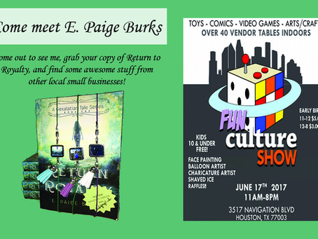 Fun Culture Show this Weekend!