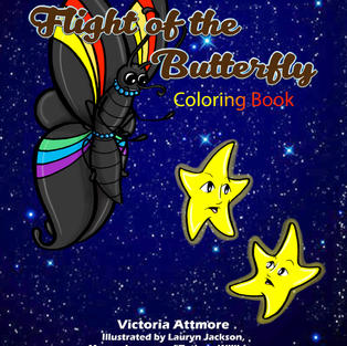 The Flight of the Butterfly Coloring Book