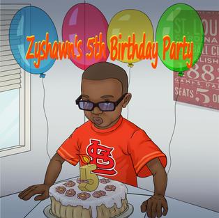 Zyshawn's Fifth Birthday