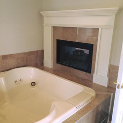 Tub with Fireplace