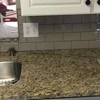 granite n backsplash