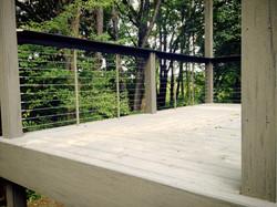 Outdoor Steel Patio Rails