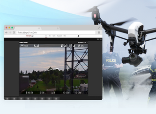 Secure Multi-Platform Video Broadcasting via Aeryon and Dejero