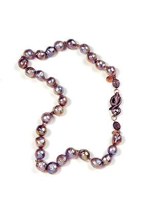 Iridescent Grey Baroque Pearls