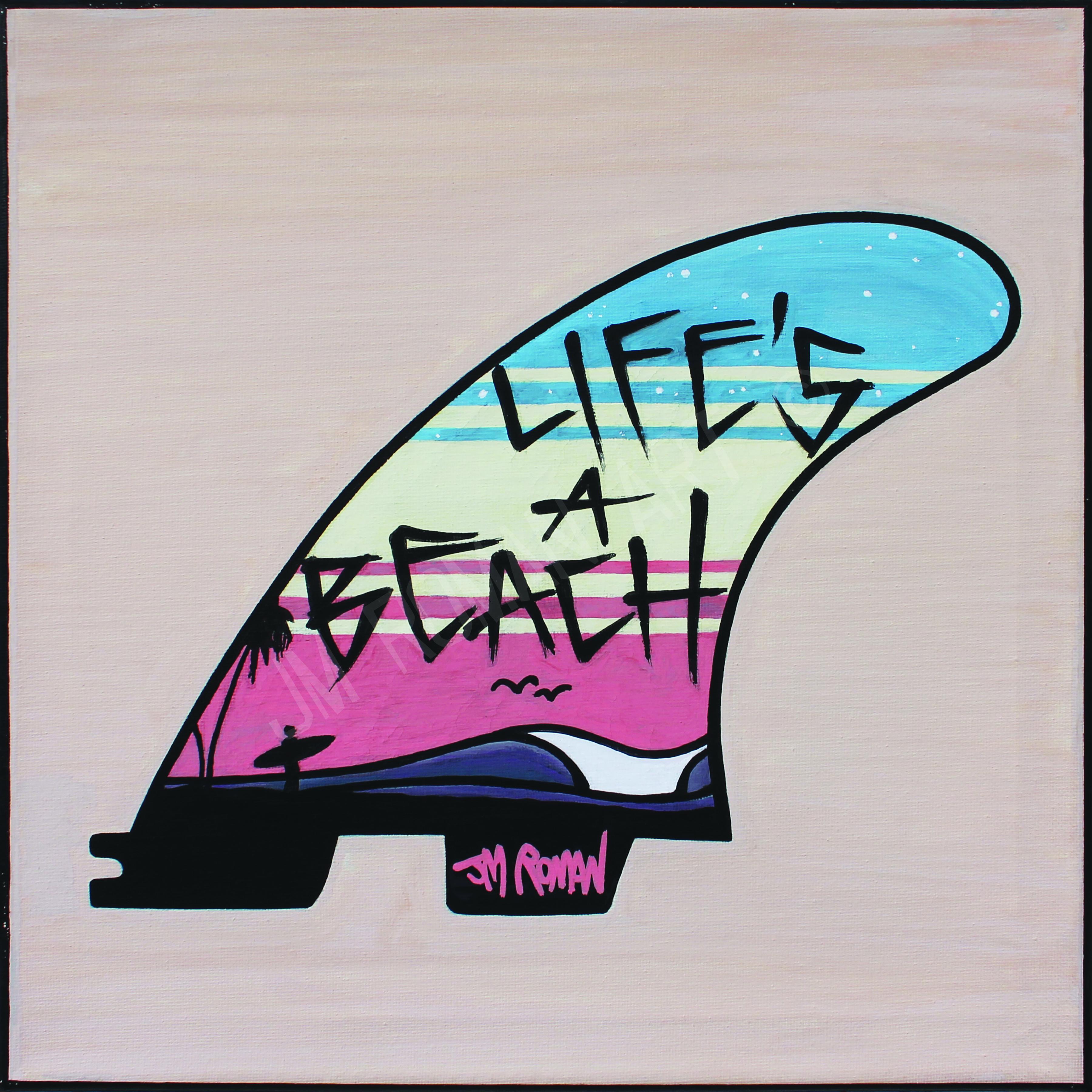12x12 Life's a Beach