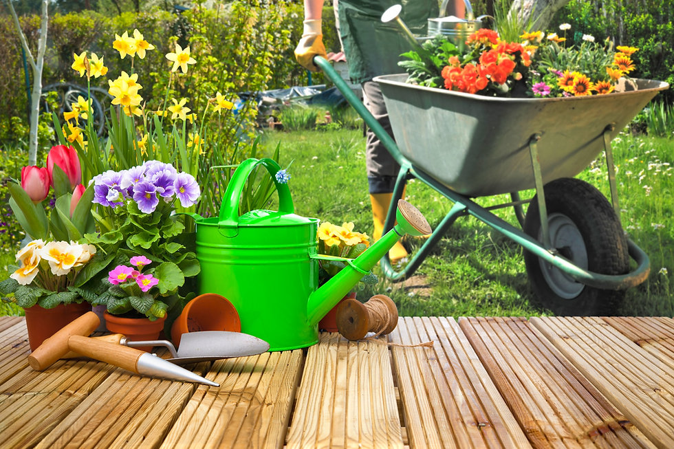 Gardening%20tools%20and%20flowers%20on%2
