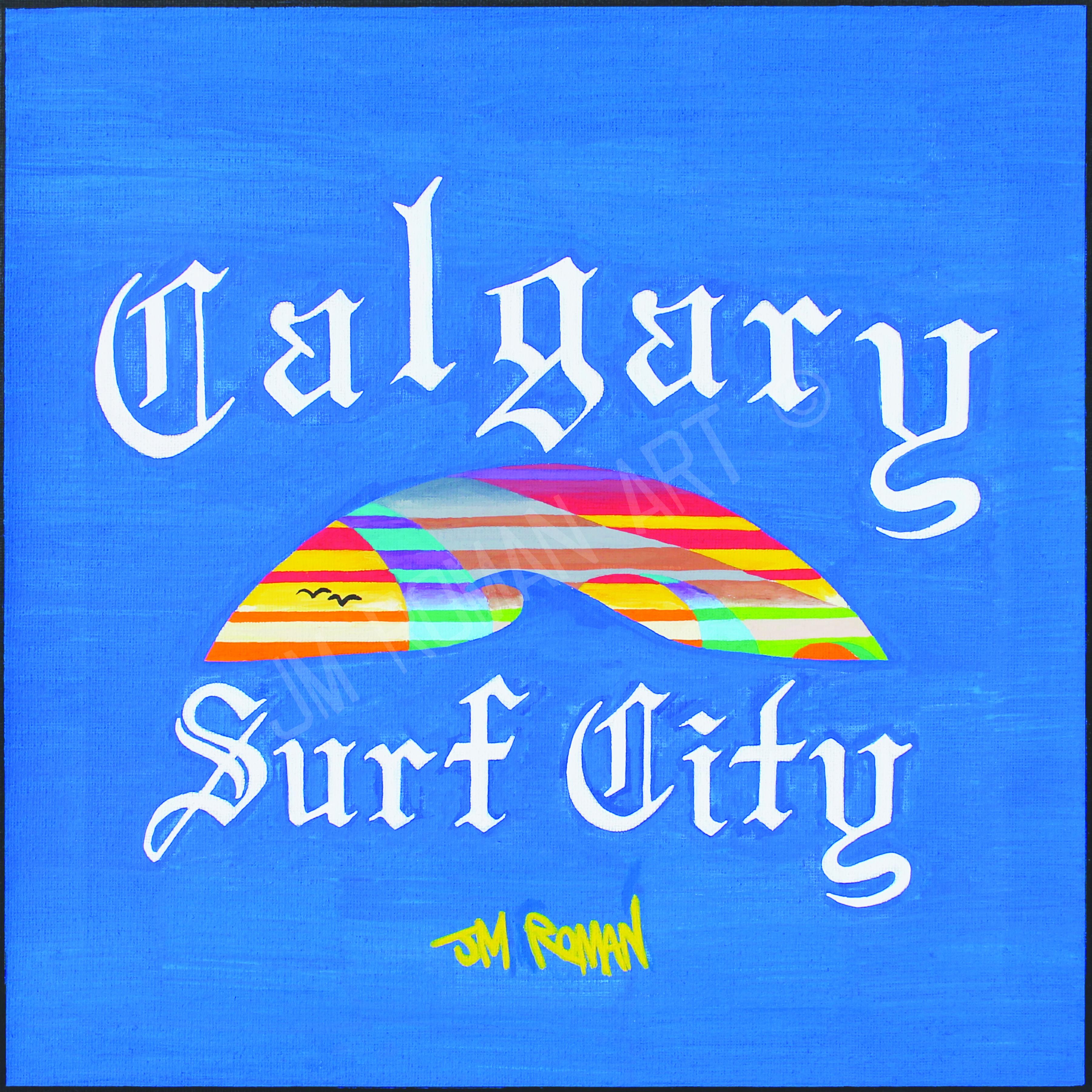 12 x 12 Calgary Surf City