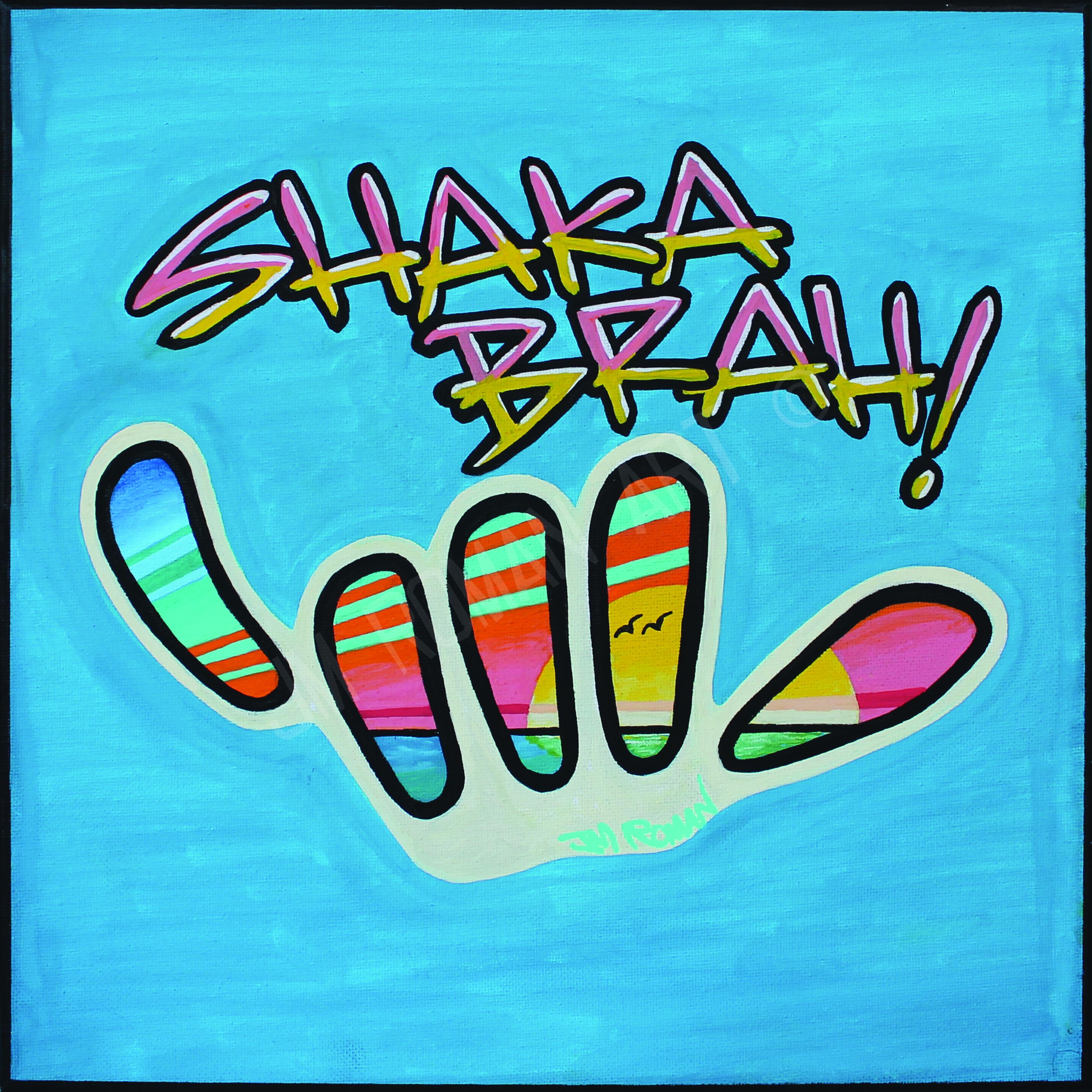 12 x 12 Shaka Brah!