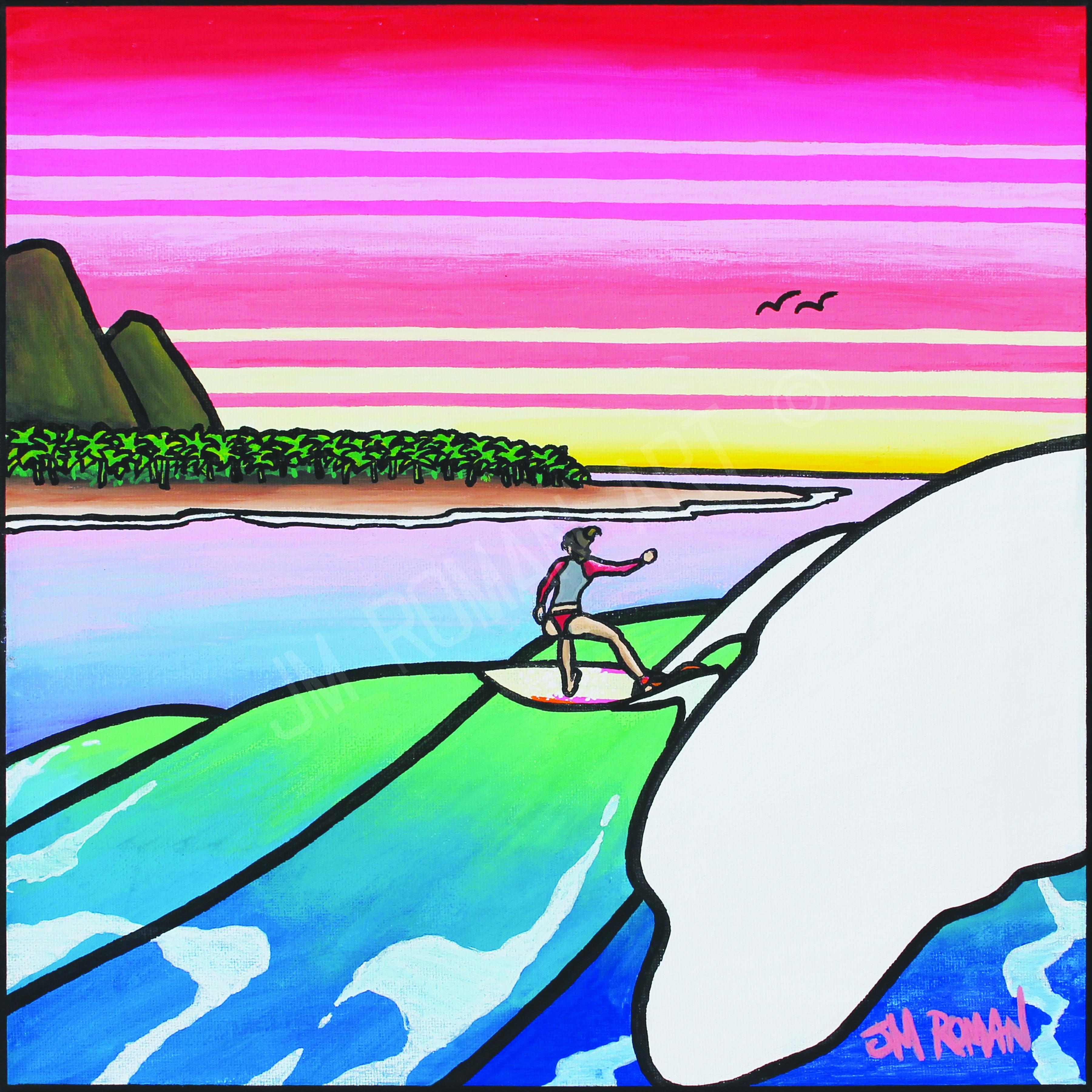 12 x 12 Surf Rider