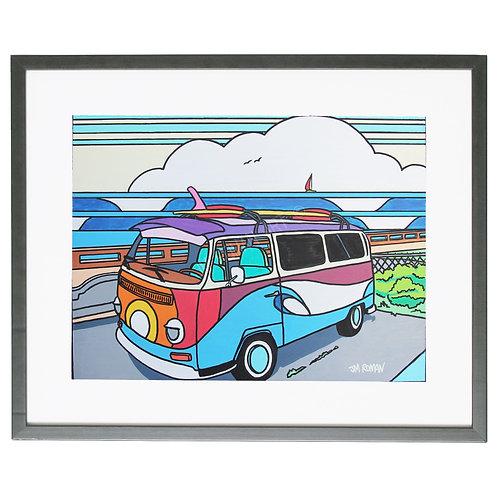 Surf Bus 8 x 10 in (Print)
