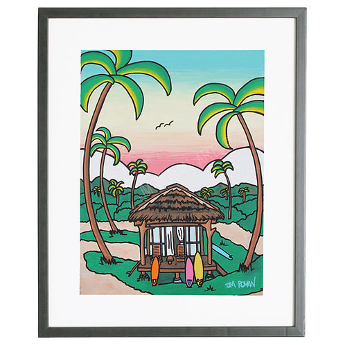 Surf Casita 8 x 10 in (Print)