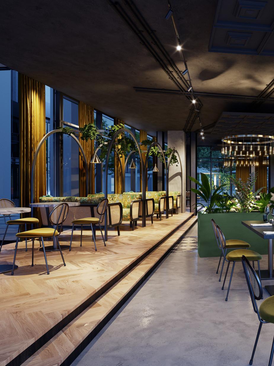 Sofia, Restaurant