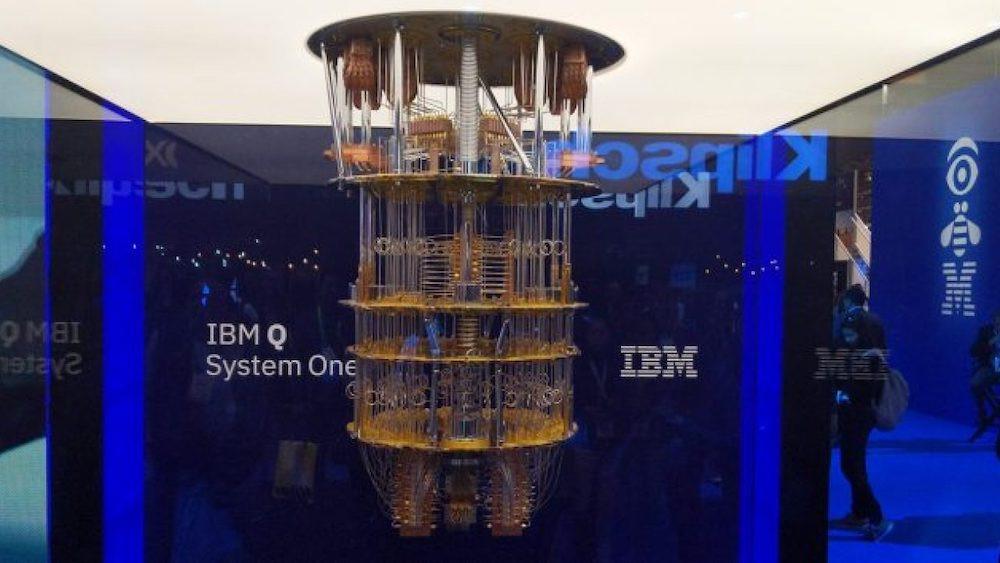 Computador quântico da IBM.