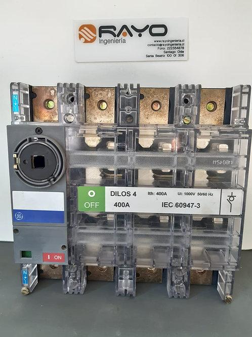 Desconectador Tetrapolar 400 Amp