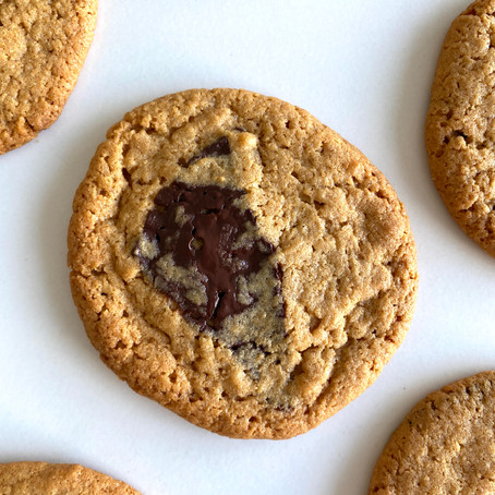Peanut butter, chocolate chips cookies