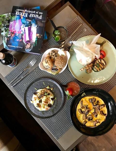 Hotel Amigo Healthy menu