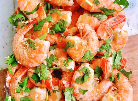 How to make lime & honey shrimps?