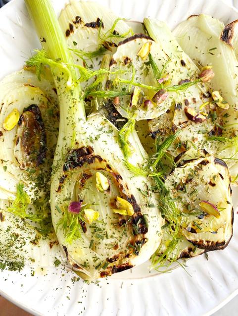 Grilled Fennel salad