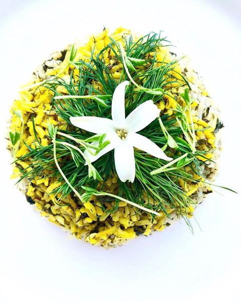 Herbs Rice with Saffron