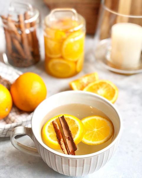 Orange, Cinnamon Tea