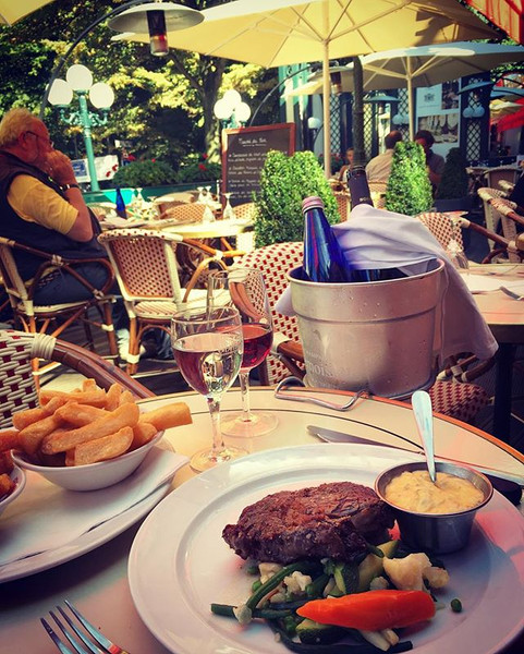 The best business lunch spot in Brussels