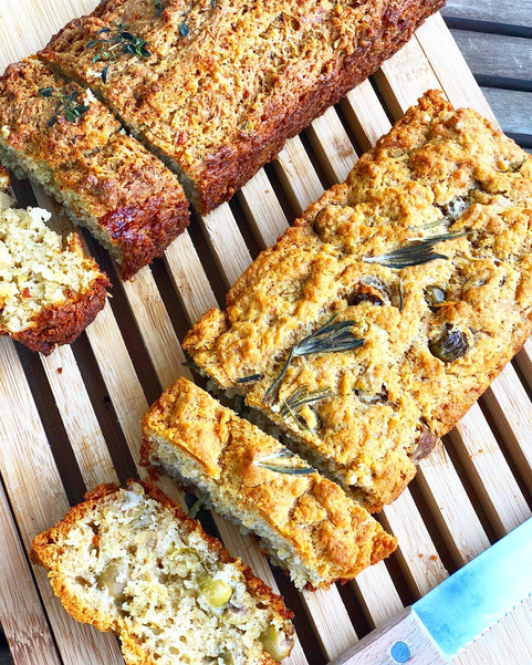 How to make healthy & savory bread?