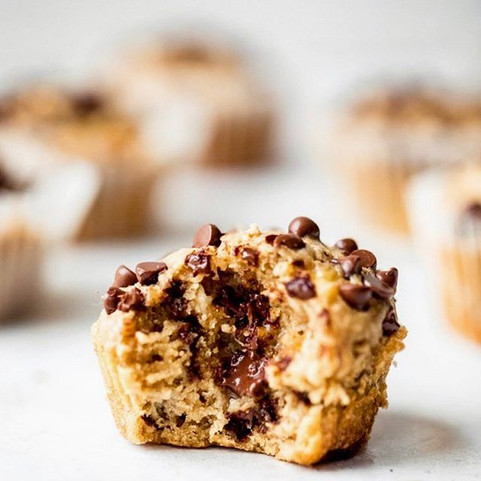 Oat & Chocolate Muffins