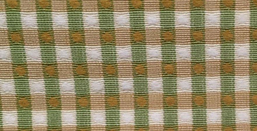 Green and Gold Small Plaid