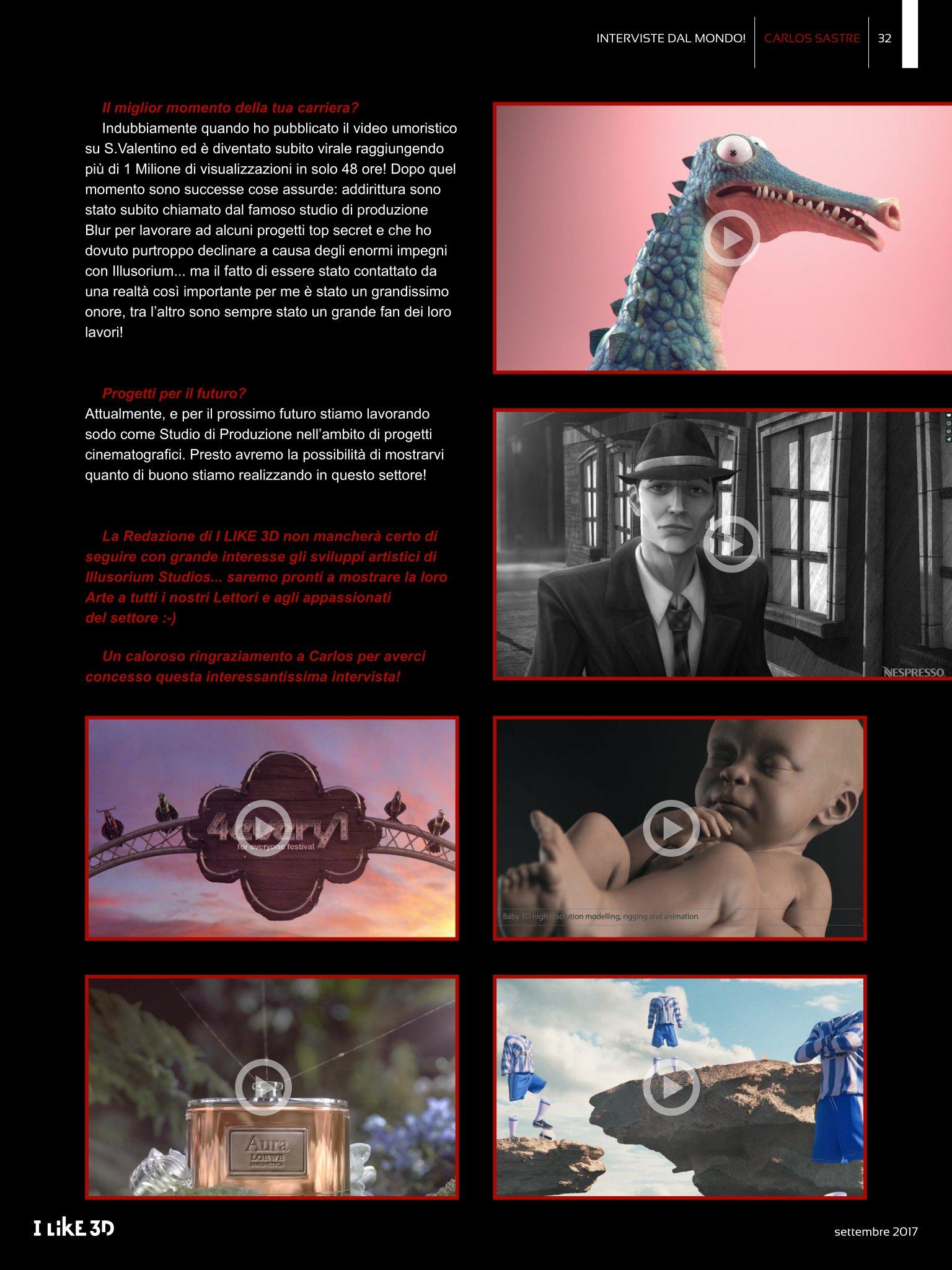 Interviste dal Mondo - I Like 3D #16