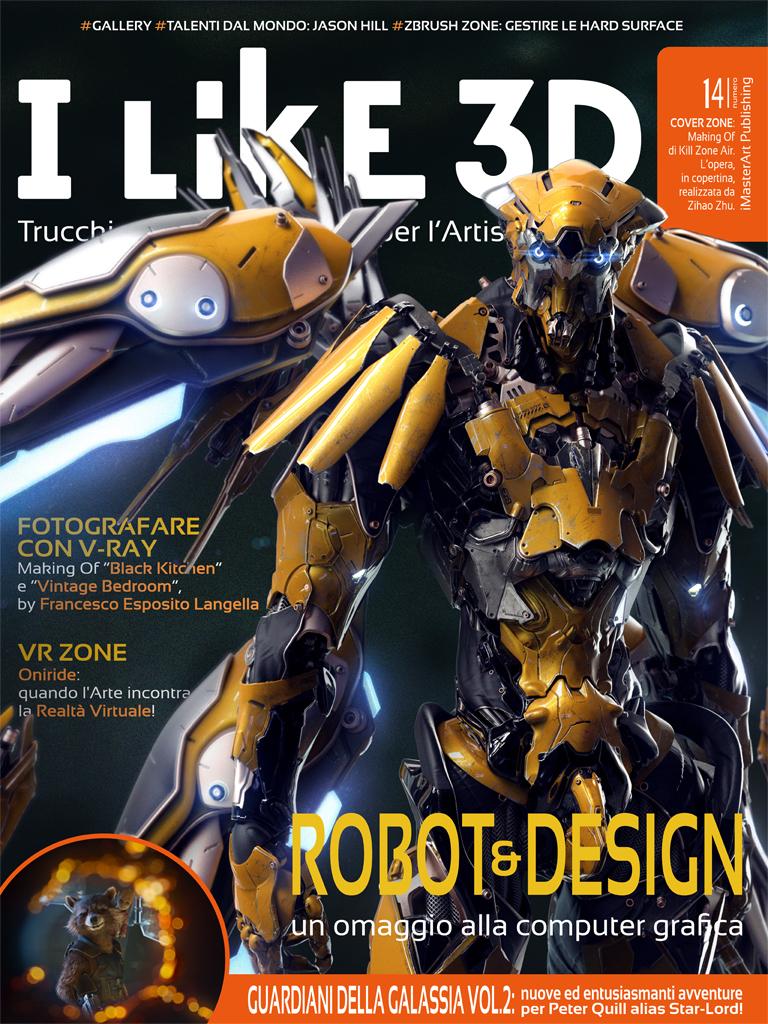 Cover - I Like 3D #14