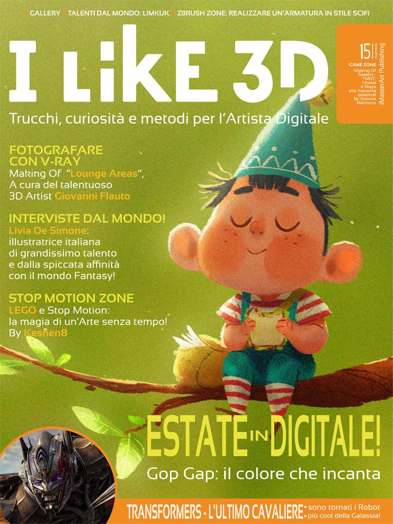 Cover - I LIKE 3D #15