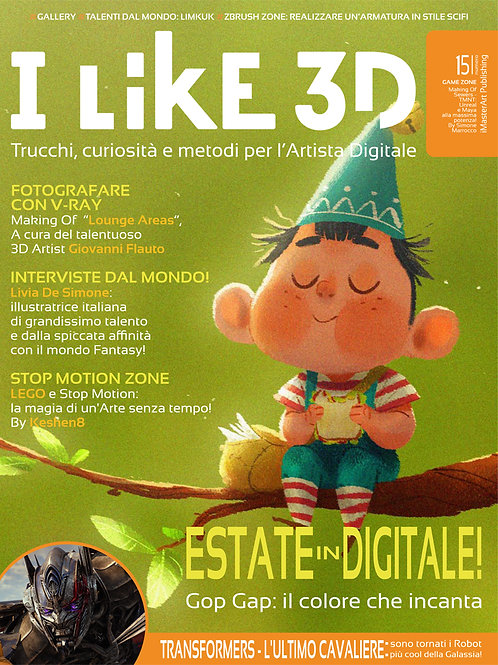 I LIKE 3D - Numero 15