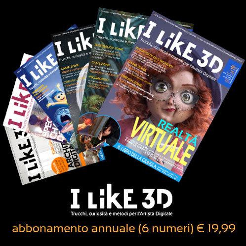 I LIKE 3D - Abbonamento annuale all'Intero Catalogo