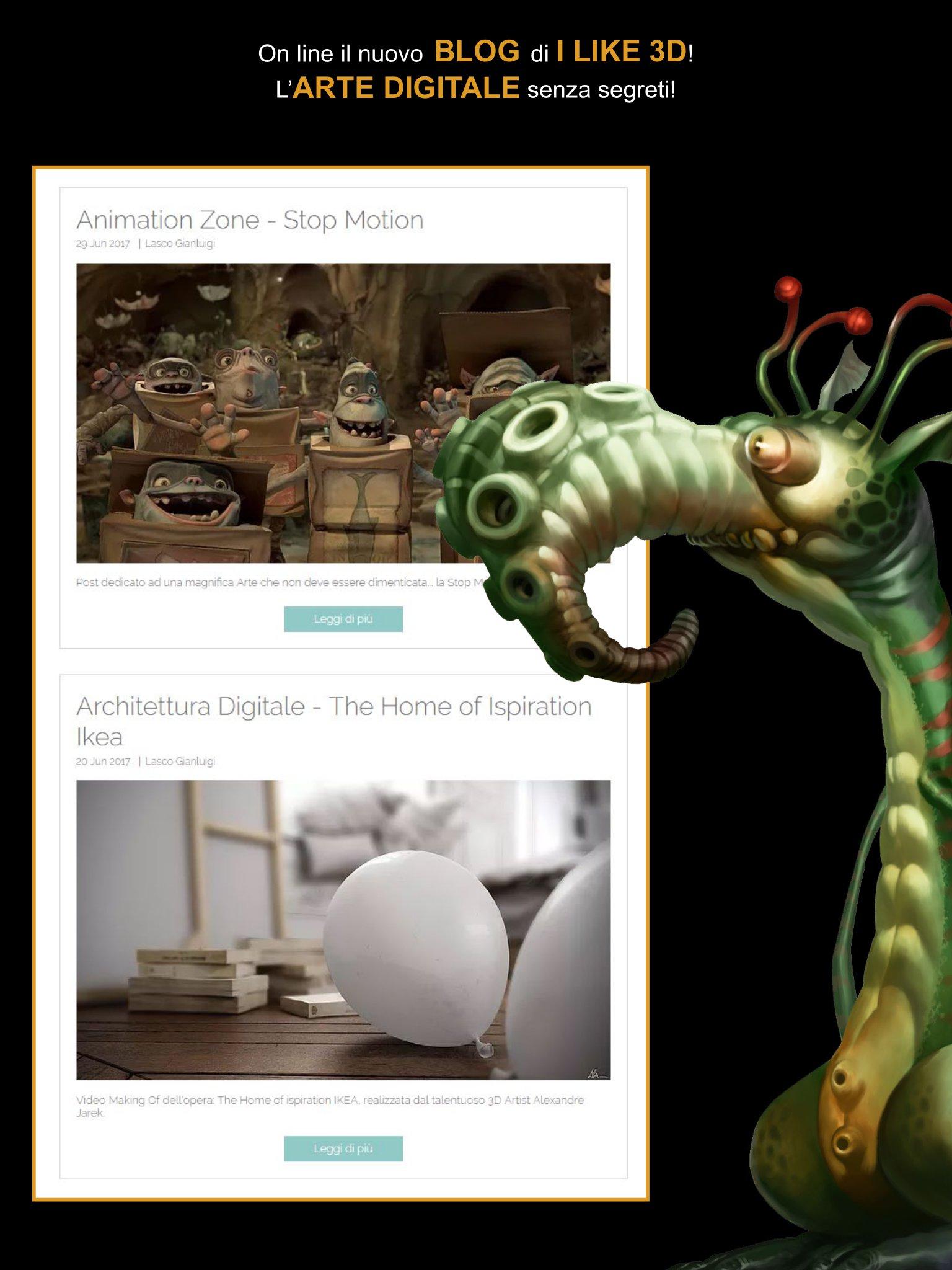 Blog OMAGGIO - I Like 3D #16