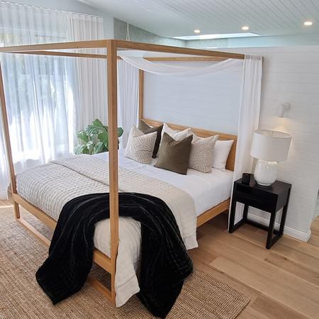 Modern bedroom styling