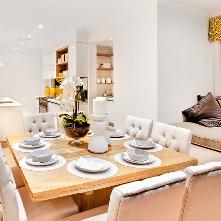 Contemporary family dining