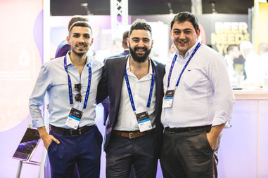 Kurt, Julian and Sandro at Delta Summit 2019