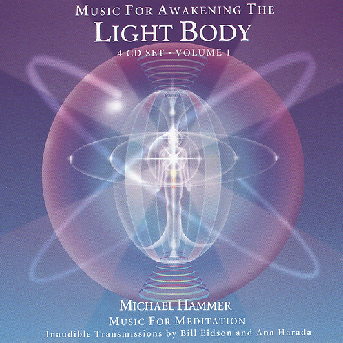 Music For Awakening The Light Body - 4 CD Set