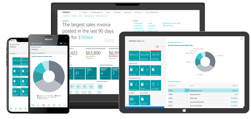 Dynamics365 Business Central ERP