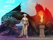 Layla and the dragon