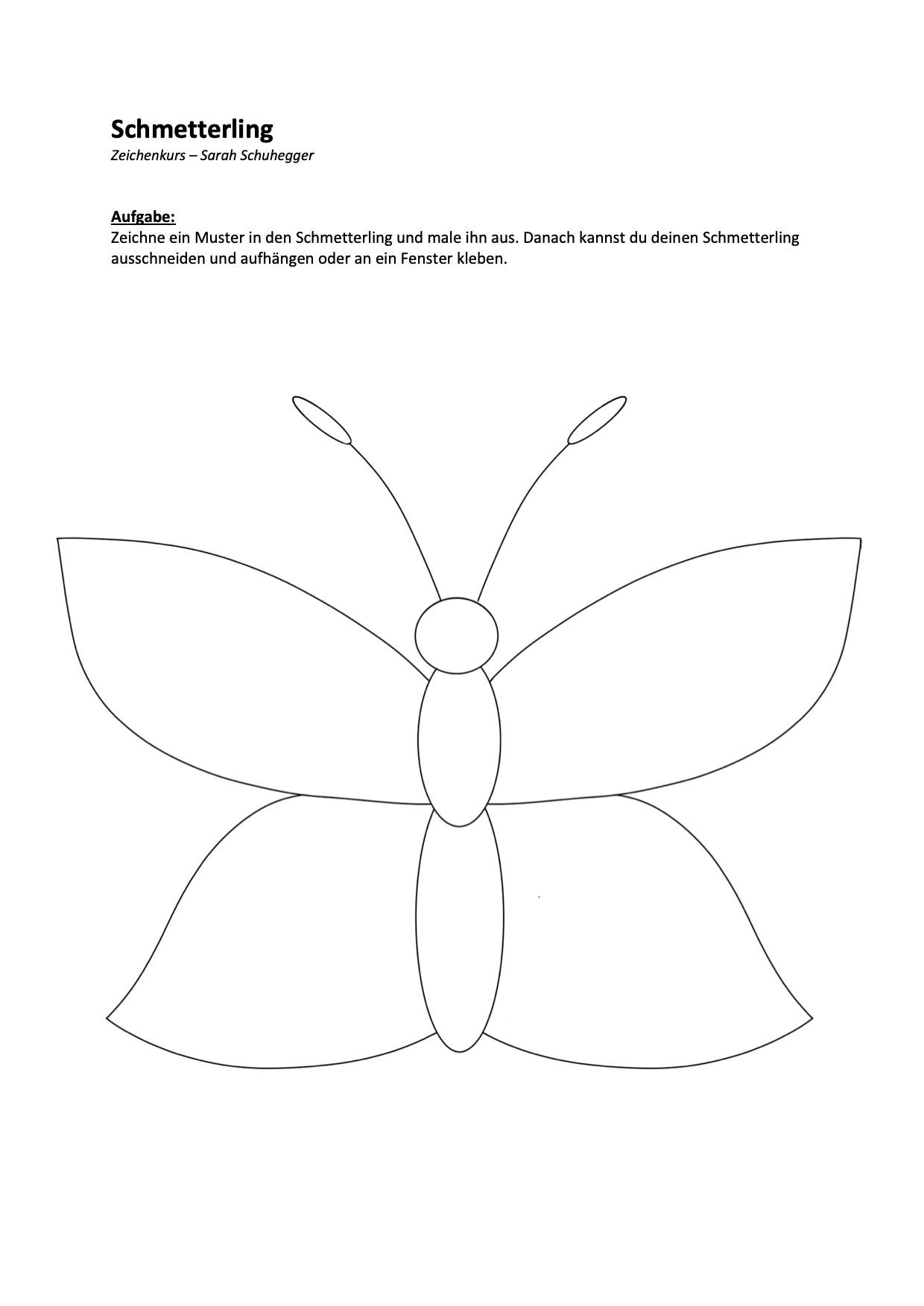 Schmetterling Muster