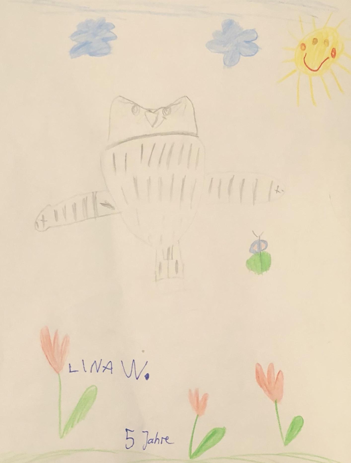 Zeichnung Lina