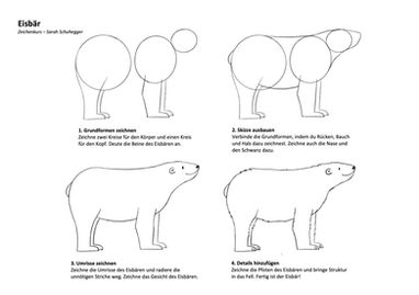 Malvorlage Eisbär