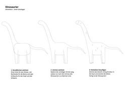 Dino Zeichenanleitung