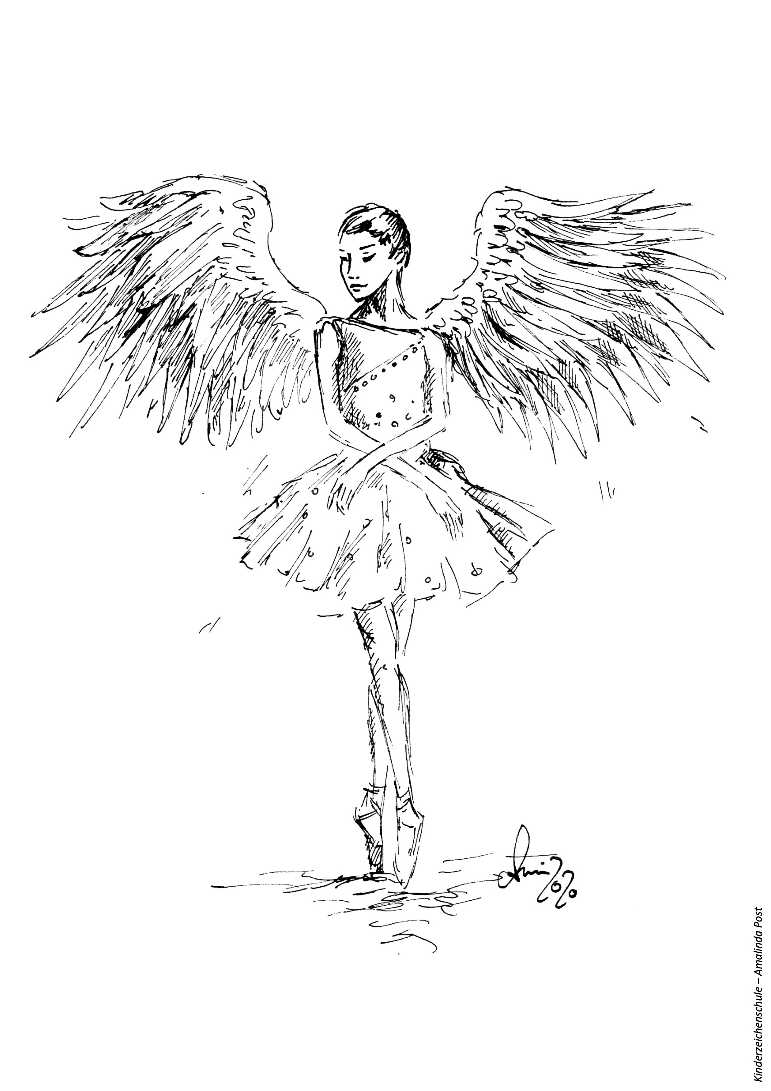 Ballerina Engel