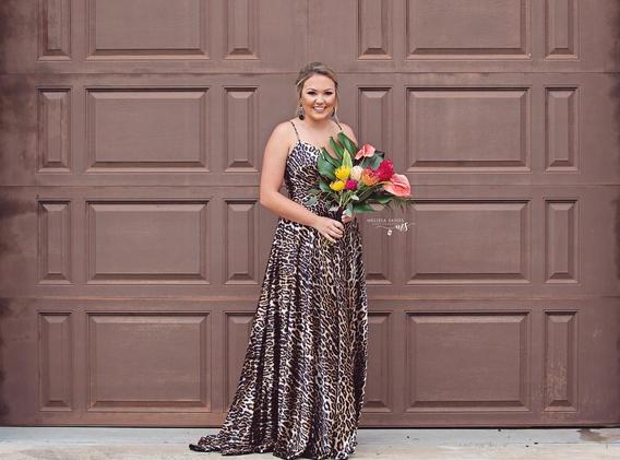 Tropical Prom Bouquet