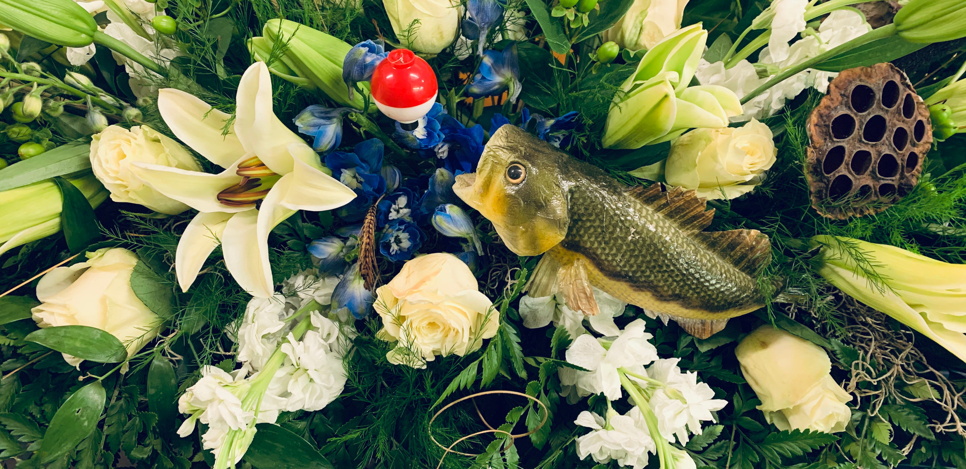 Casket Spray (Fish)