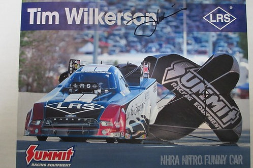 2017  Autographed LRS - Summit Racing Funny Car #2 / Tim Wilkerson